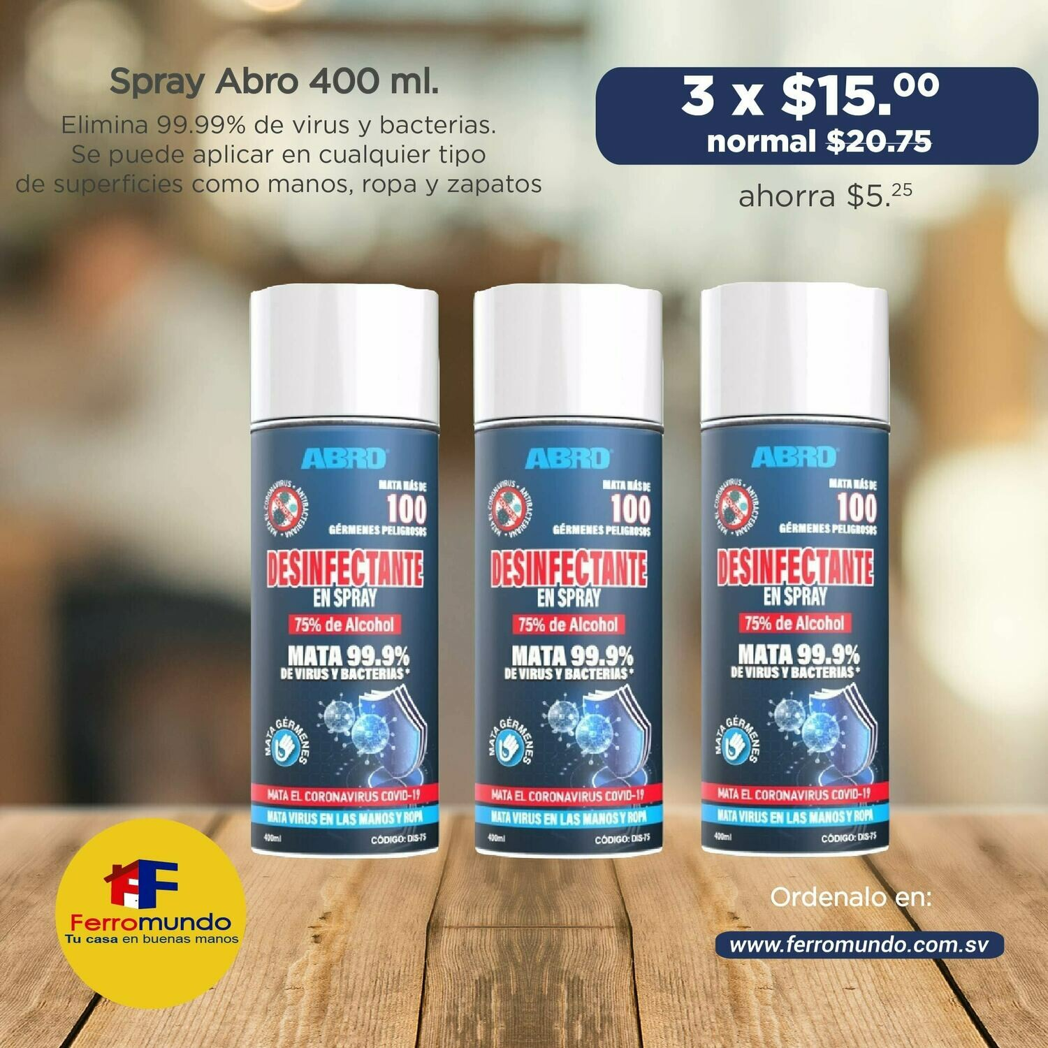 3 pack spray Abro