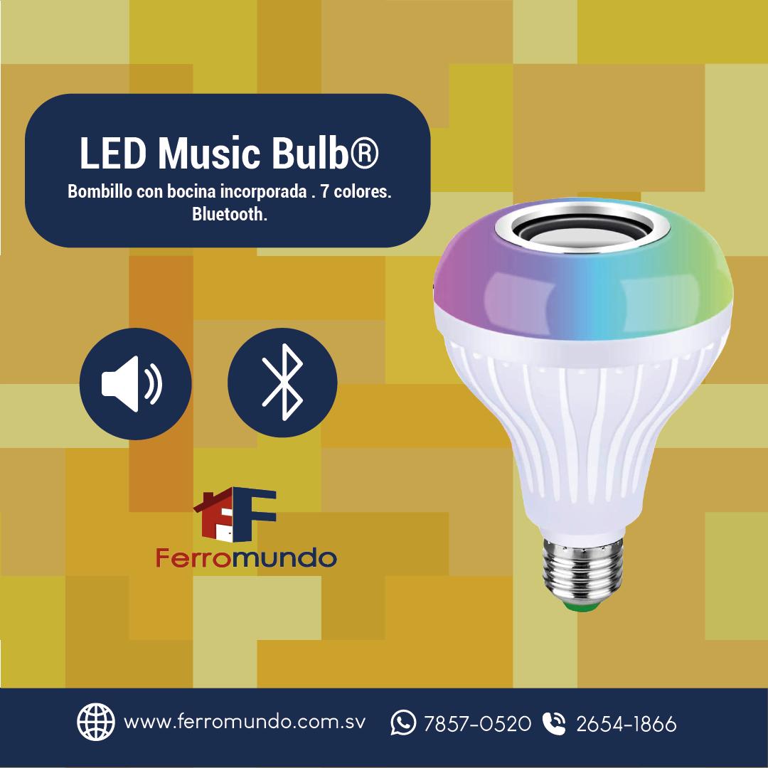 LED Music Bulb 7 Watts