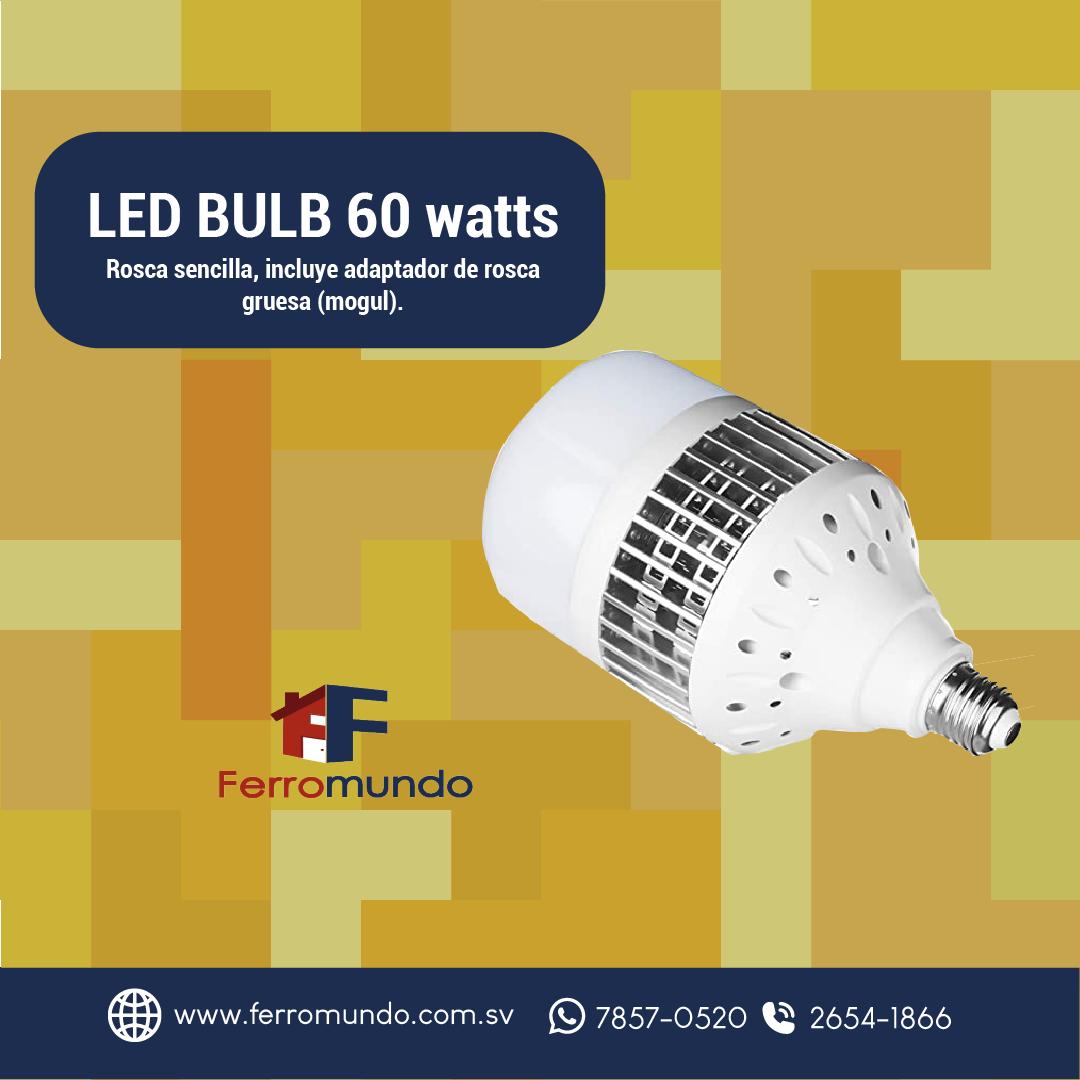 LED BULB 60 watts