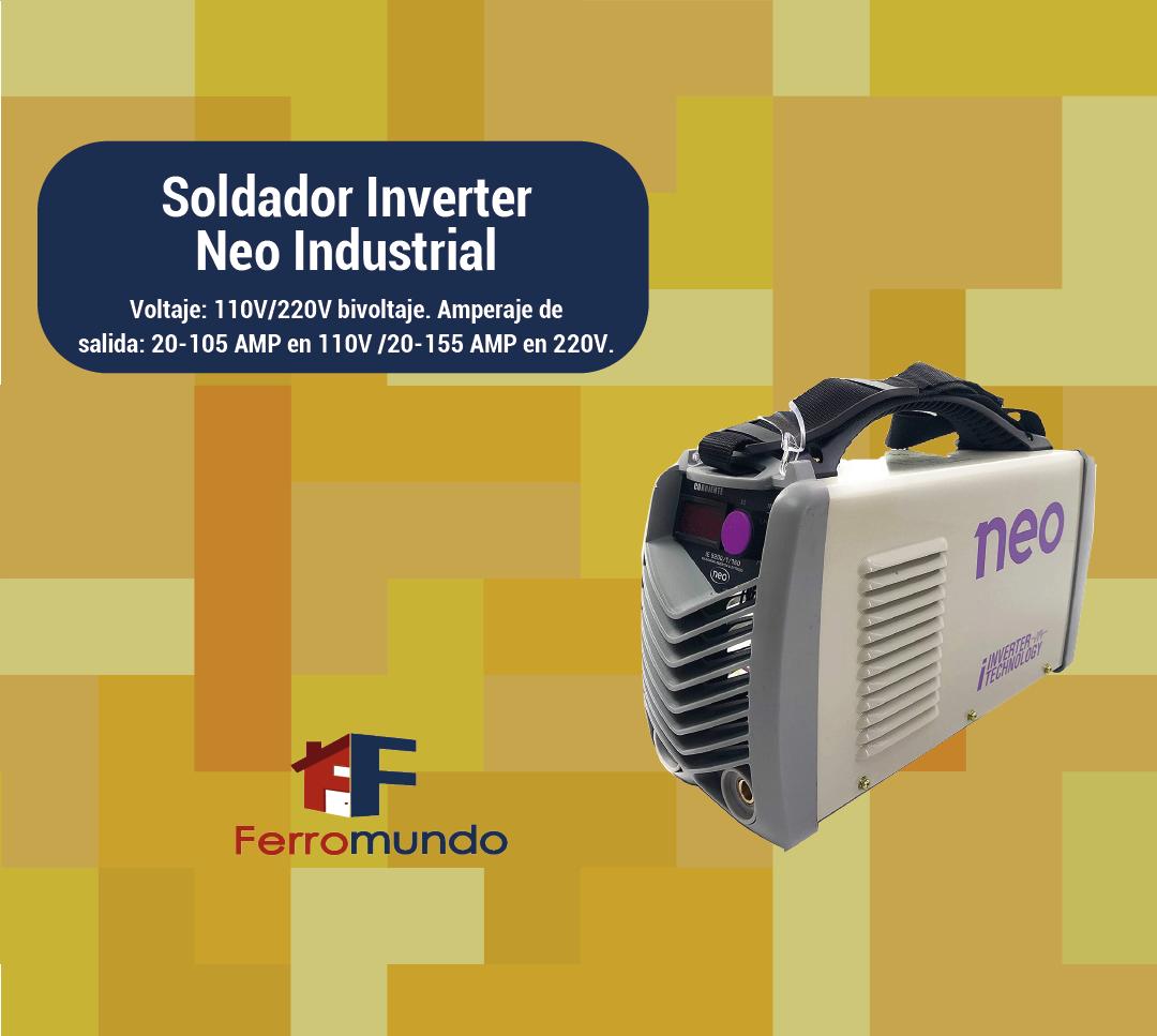 Soldador Inverter Neo Industrial