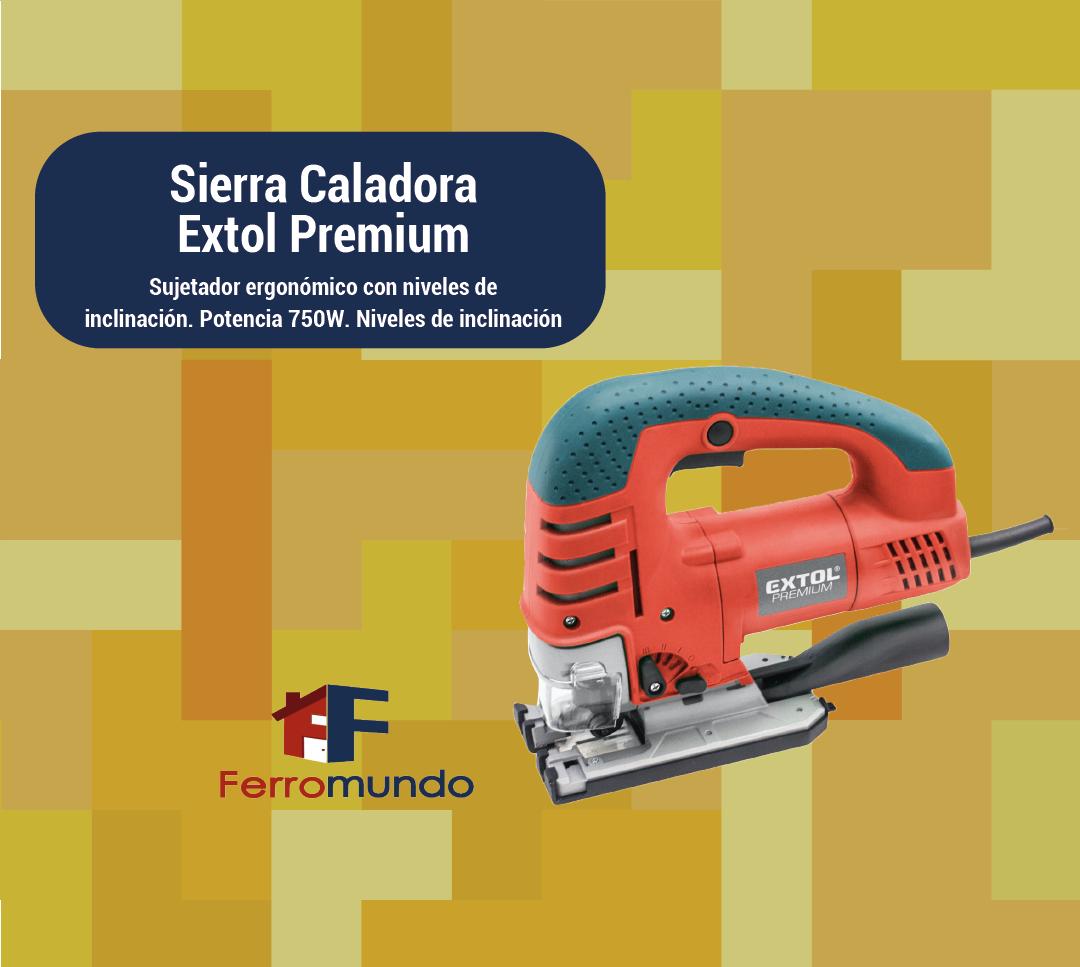 Sierra Caladora Extol Premium 750W