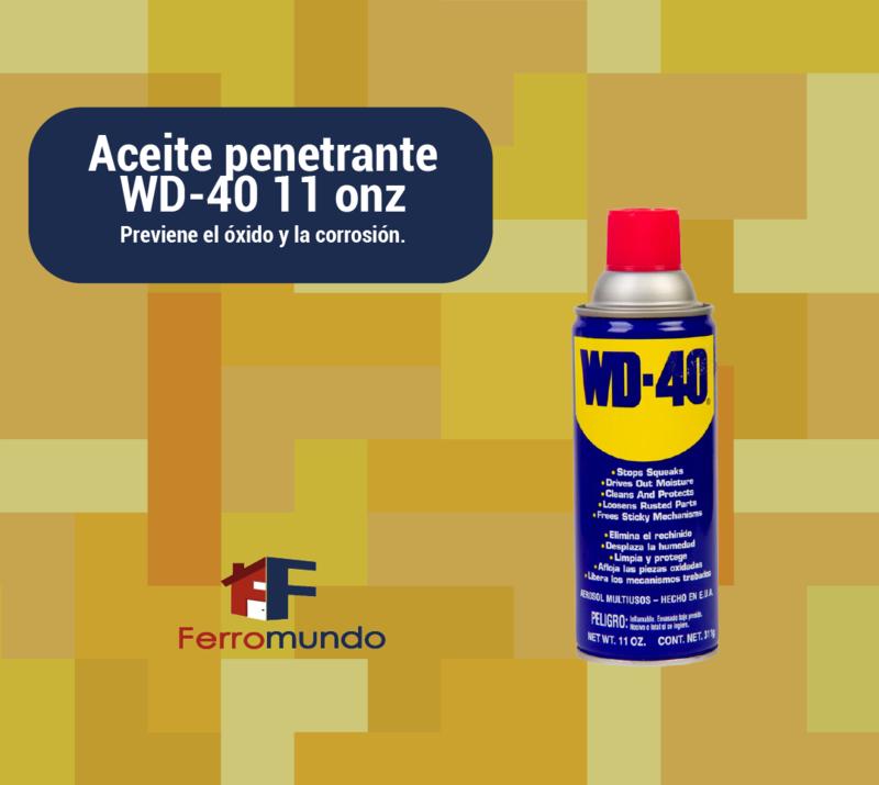 Aceite penetrante WD-40 11 onz