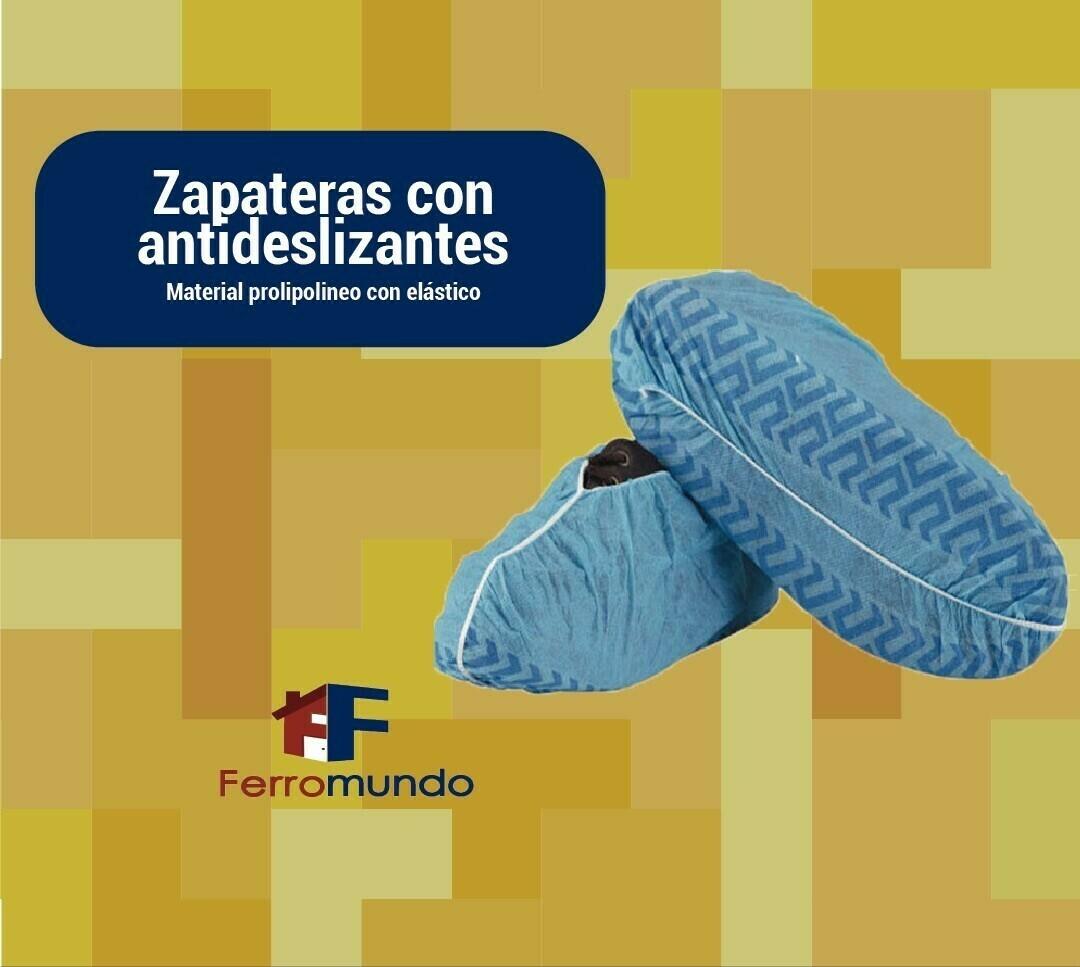 Cubrezapatos desechables paq. 50 pares