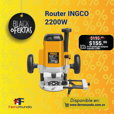Router INGCO 2200W