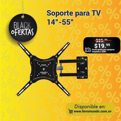"""Soporte para TV 14""""-55"""""""