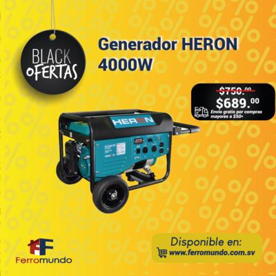 Generador HERON 4000W