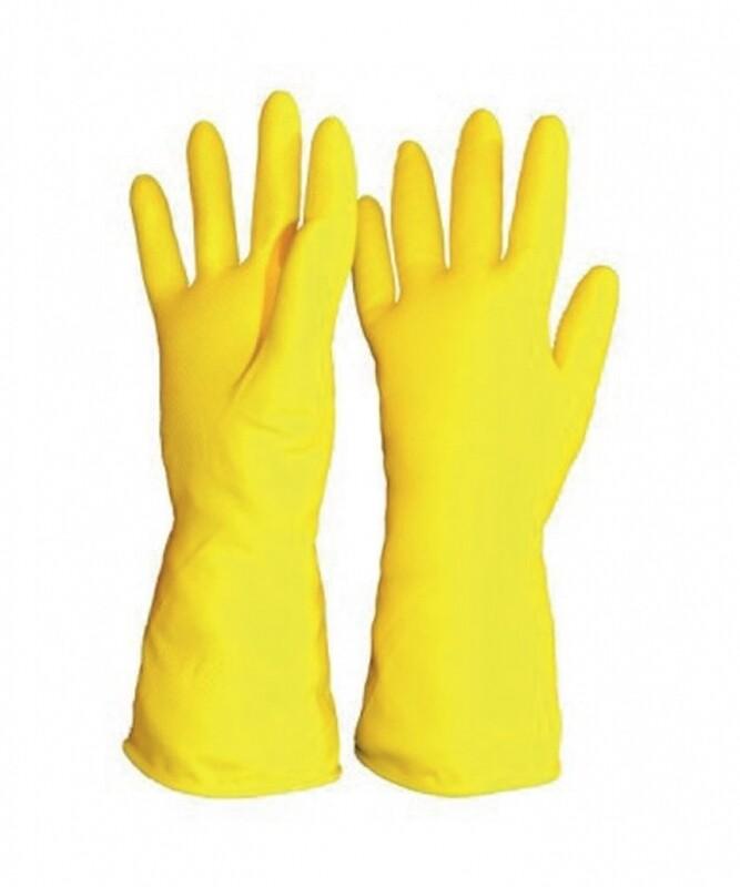 Guante de latex para limpieza