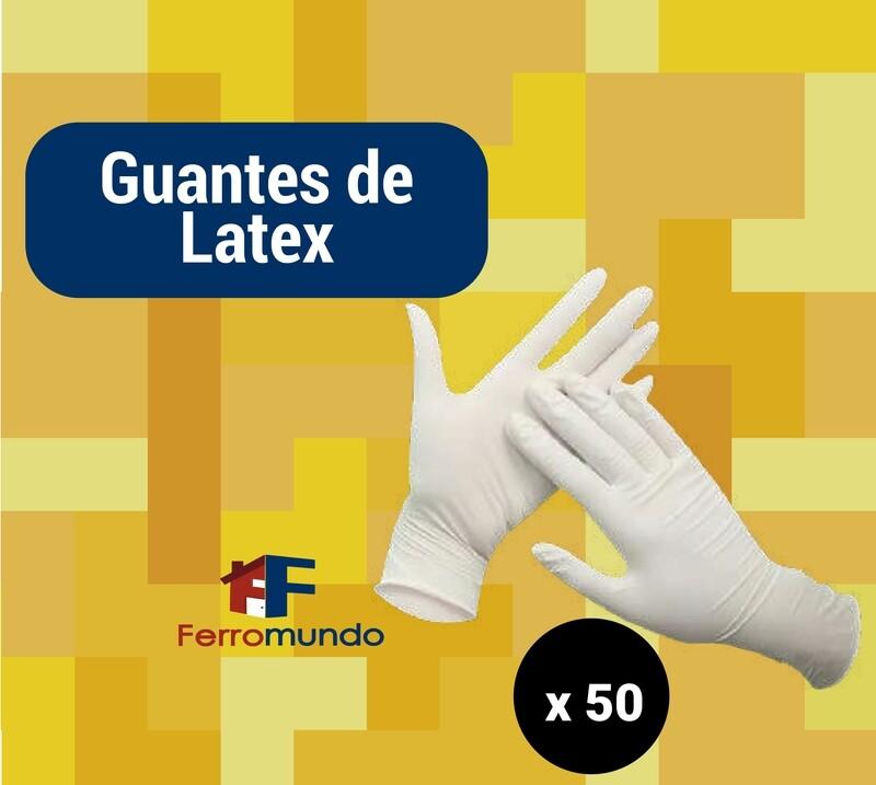 Guante de latex - caja 50 pares