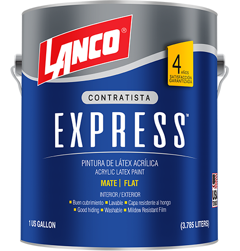 Lanco® Express Coat™ Cuarto Blanco