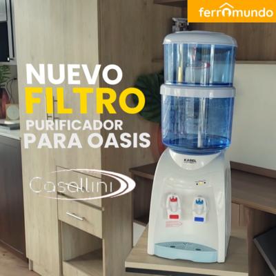 Combo: Purificador de agua Casallini con dispensador agua fria y caliente