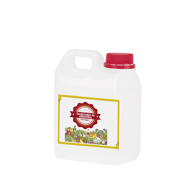 Sanitizador de alimentos Peroxigen galón
