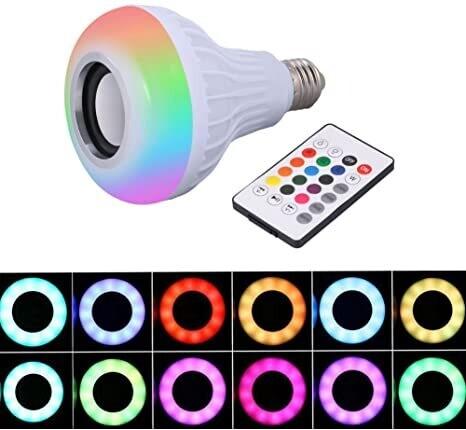LED ® Bulb 7 watts con bocina bluetooth.
