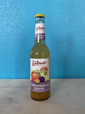 Lüttauer Apfel- Maracuja Schorle