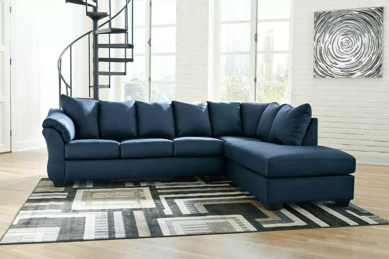 Darcy 2-Piece Sectional with Chaise Collection