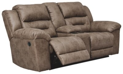 3990594 Stoneland Reclining Loveseat with Console