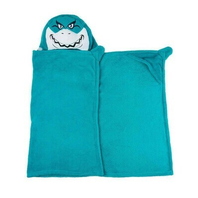 SHARK HUGGABLE HOODED BLANKET