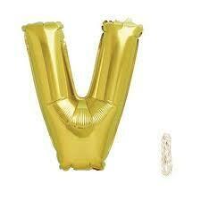 V foil balloon
