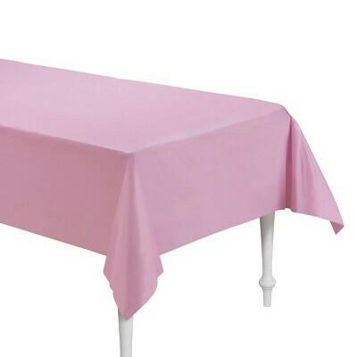 "2pk 54""x108"" Plastic Table Cover"