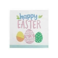 Happy Easter Beverage Napkins