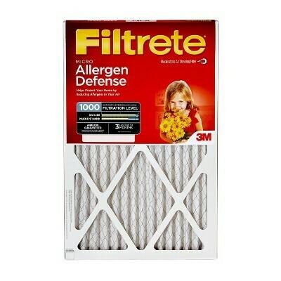 Filtrete Micro Allergen 24x24, Air Filter