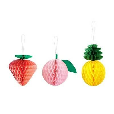 Fruit Decor 3 ct