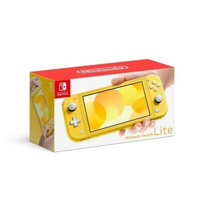 AS IS Nintendo Switch Lt. Yel.