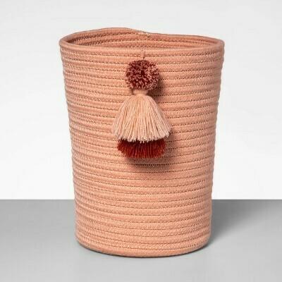 Coiled Rope Wastebasket