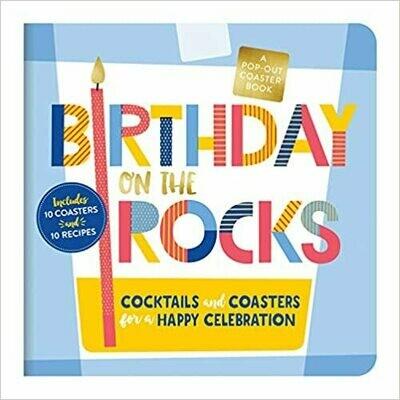 Birthday on the Rocks Coaster Book