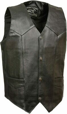 Event Leather Vest 2X