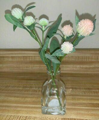 Faux Thistle Arrangement Pink -