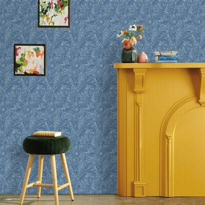 Peel & Stick Wallpaper Blue