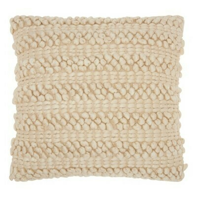 Woven Stripe Throw Pillow