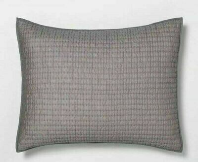 Gray Pillow Sham