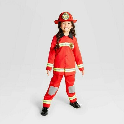 Kids' Red Fireman AS IS