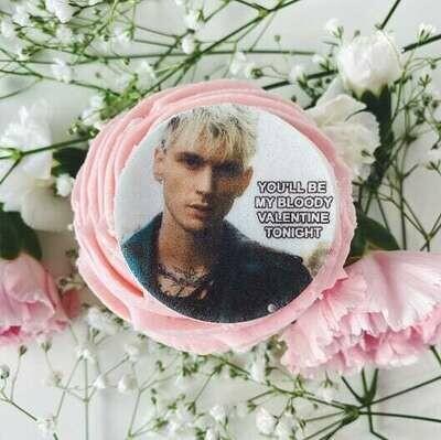Machine Gun Kelly Valentine's Cupcake