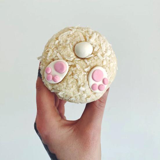 Bunny Tail Cupcake