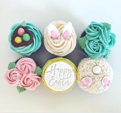 Half Dozen Specialty Easter Cupcakes