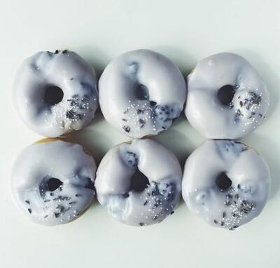 Blackberry Lavender Donuts