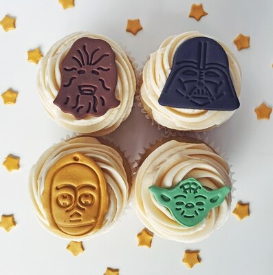 'May The 4th Be With You' Cupcake Pack