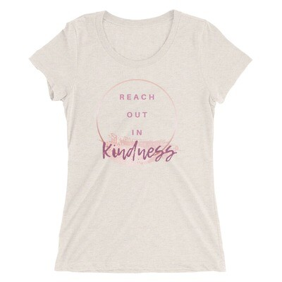 Ladies' Short Sleeve T-Shirt - Kindness