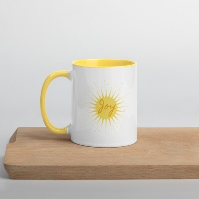 Mug with Color Inside - Joy