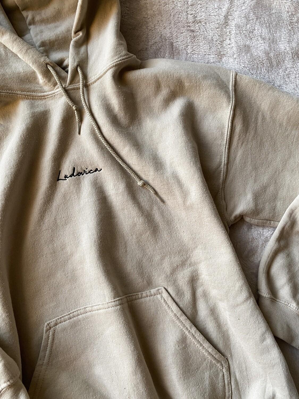 Tan Ludovica hoodie