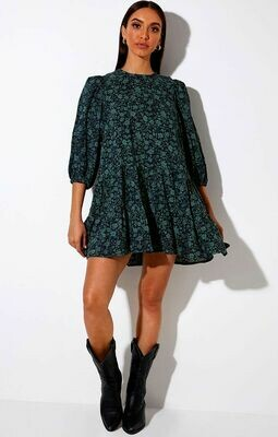 Paisley Print Flowy Dress