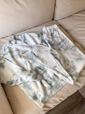 Sage Tie-Dye Sweatpants