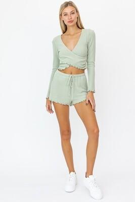 Sage Merrow Soft Shorts