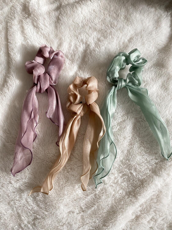 Alex Three Pack Scrunchies