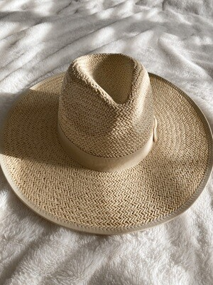 Large Straw Rancher Hat