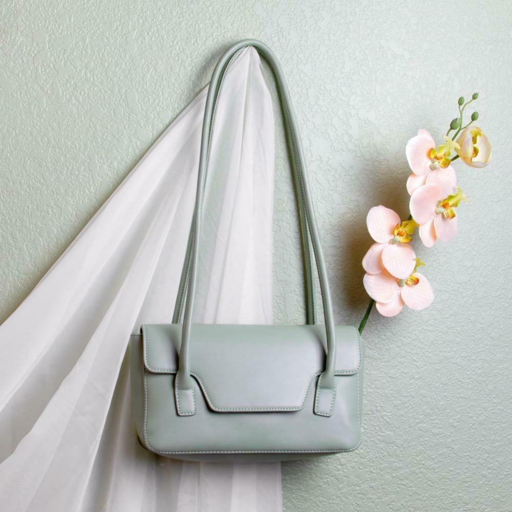 Christy Mint Shoulder Bag