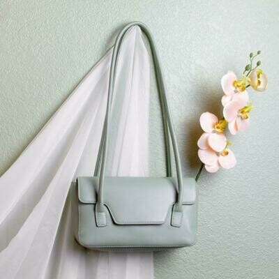 Christy Mint Shoulder Bag