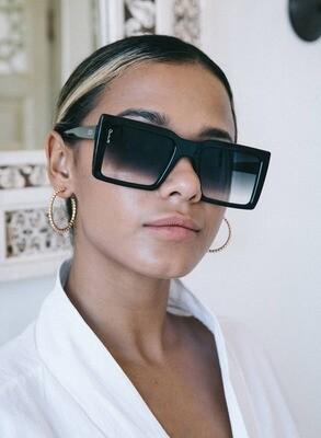Shoreditch Black Sunglasses